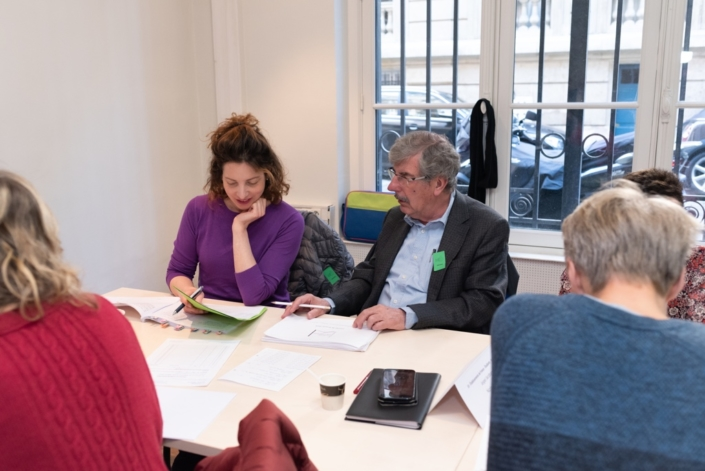 Maïa Brami, écrivaine, en binôme avec le comédien Bernard Menez