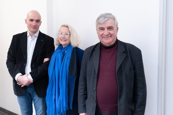 Jean-Baptiste Dussert, Brigitte Fossey, Jean-Marc Muller