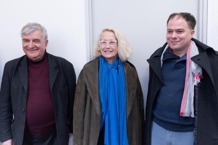 Jean-Marc Muller, Brigitte Fossey, Matthias Vincenot