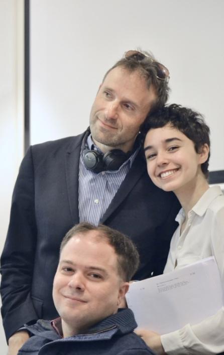 Jérôme Attal, Jenna Boulmedais et Matthias Vincenot