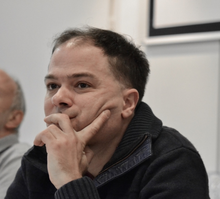 Matthias Vincenot, poète, Directeur artistique de Poésie en liberté