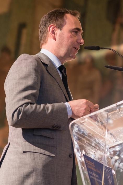 Pierre Casanova, 1er adjoint, à la Maire du 5ème