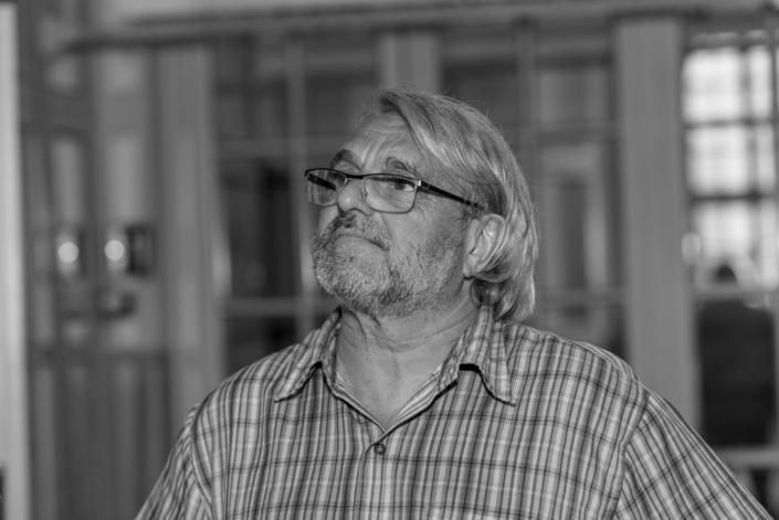 Olivier Jacquet, de Sorbonne université, régisseur technique