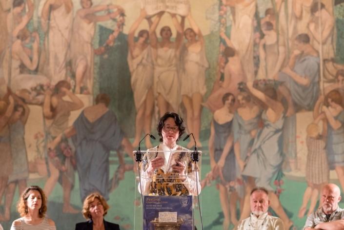 Lydia Padellec, poète et éditrice