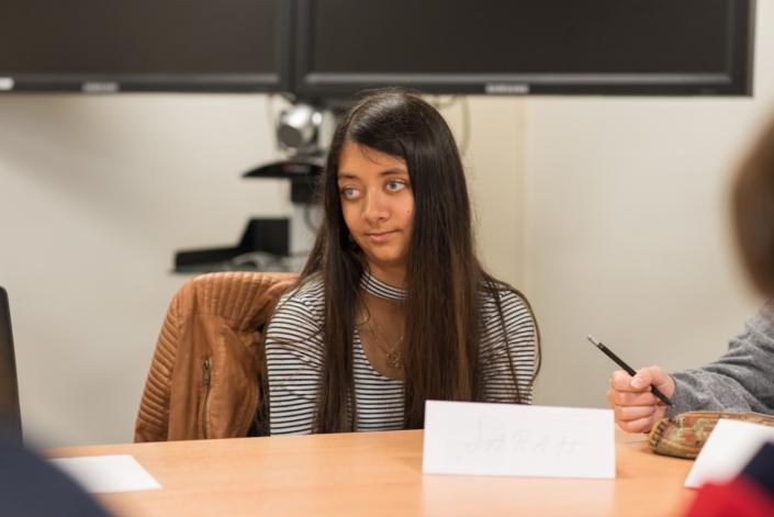 Sarah Vingadassalom, Première Scientifique, L'institut national des jeunes aveugles - Paris (75).