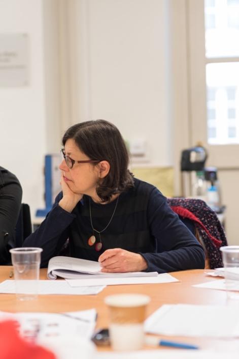 Gisèle Lévy, membre de l'équipe
