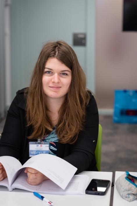 Louise Chollet, BTS Paysage, ESA (Ecole Supérieure d'Agriculture) - Angers (49).