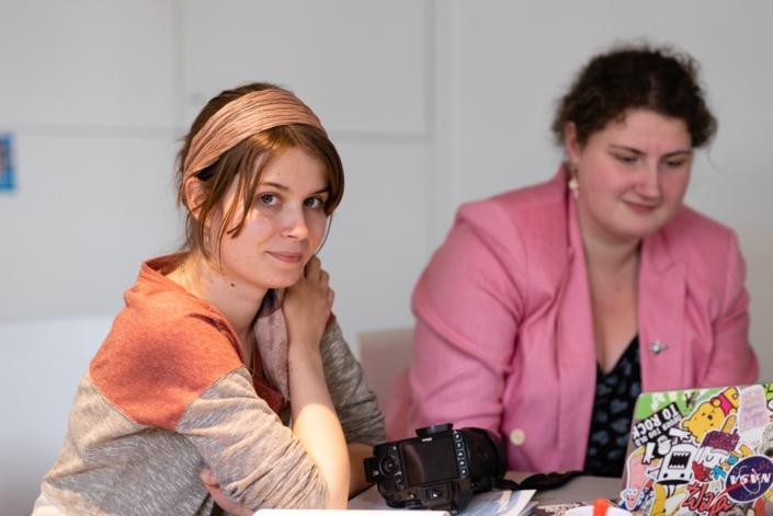 Eva Péchova en observatrice et invitée au Récital du Jury