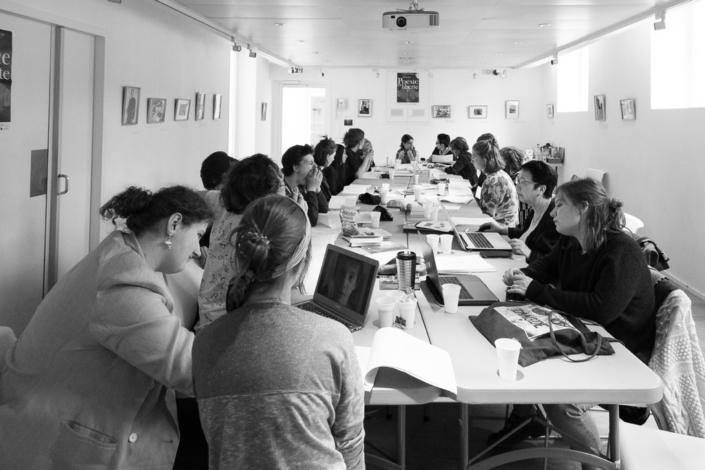 Le jury à l'Espace Andrée Chedid à Issy-les-Moulineaux