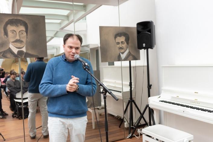 Matthias présente le Récital du Jury