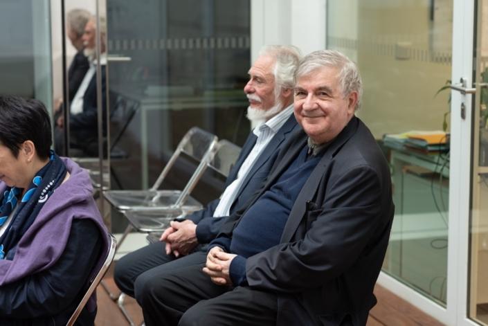 Jean-Marc Muller et Michel Séguignes