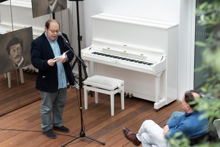Eric Sivry, poète