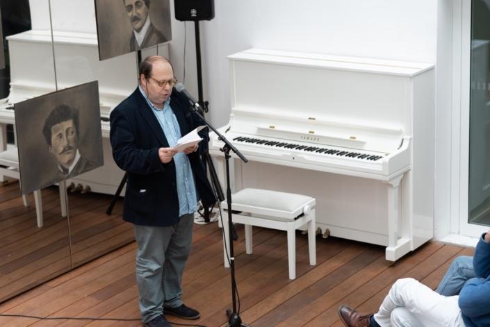 Eric Sivry, poète et éditeur