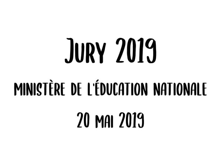 Jury 2019 - 20 mai 2019