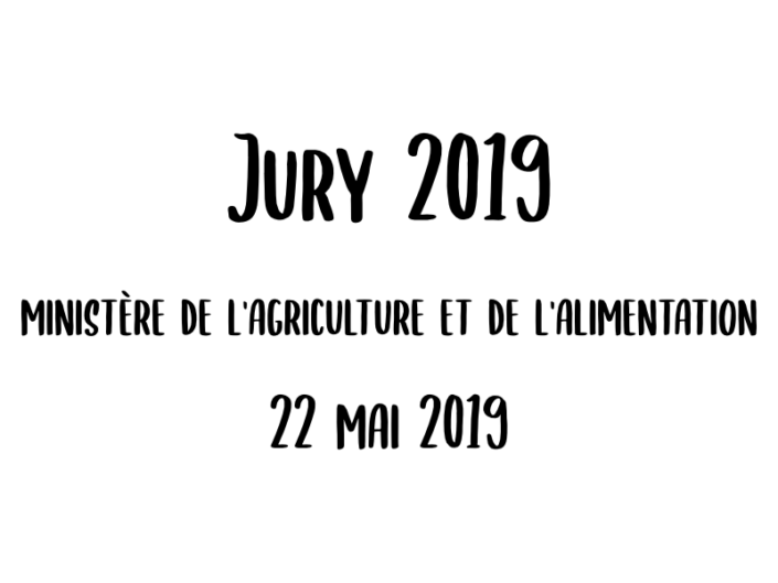 Jury 2019 - 22 mai 2019