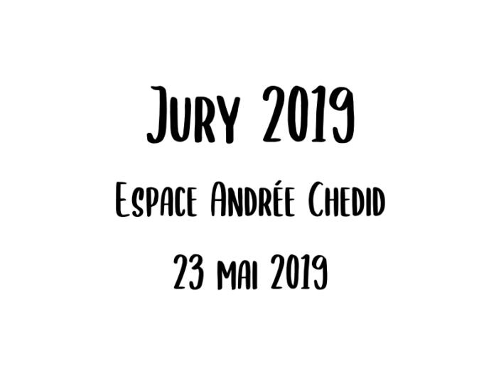 Jury 2019 - 23 mai 2019