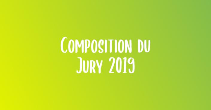 Composition du Jury 2019