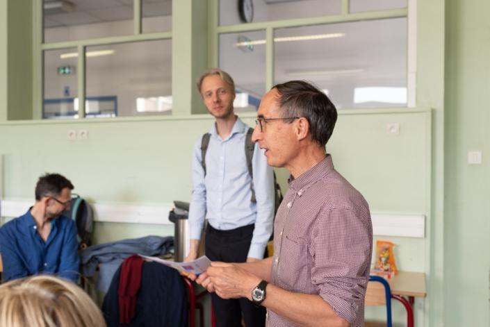 Jour 6. Les 2 jurys au Lycée Maurice Ravel