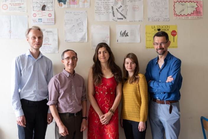 Le Jury Espéranto : Jesper Jacobsen, Gilles Tabard Président délégué, Alizée Ville, Eva Pechova et Istvan Ertl