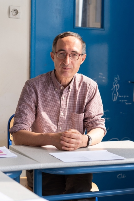 Gilles Tabard, Proviseur honoraire, Président délégué
