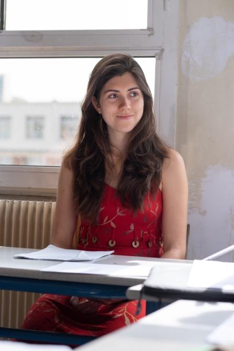 Alizée Ville, étudiante en master économie, Paris1 Sorbonne Panthéon