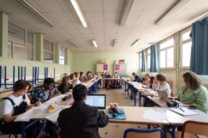 Jour 6, Jury au Lycée Maurice Ravel