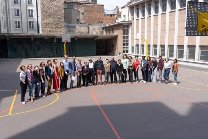 Les 2 jurys au Lycée Maurice Ravel