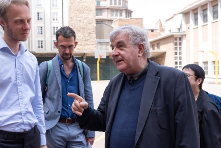 Jesper Jacobsen, Istvan Ertl et Jean-Marc Muller