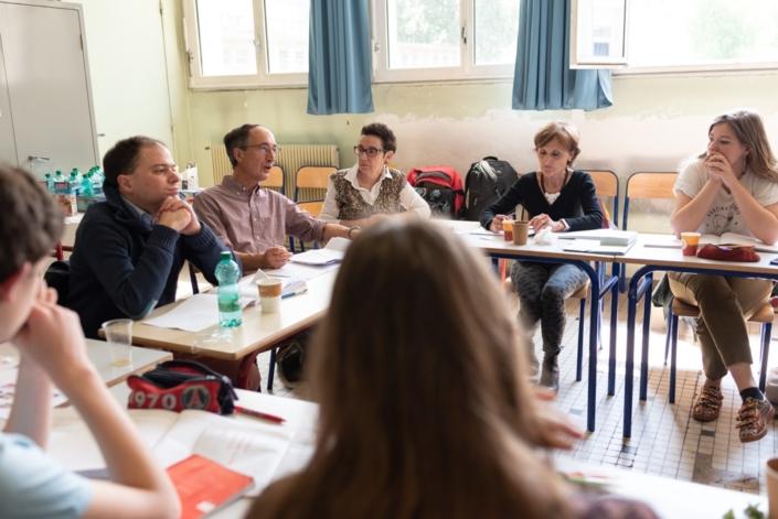 Présentation du Prix Espéranto par Gilles Tabard, Président délégué