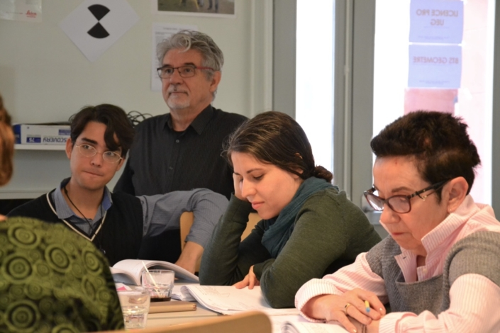 Carlos, Guy Féret, Adeline Baldacchino et Nicole Simonet