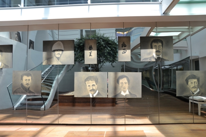 Exposition Victor Segalen à l'Espace Andrée Chedid