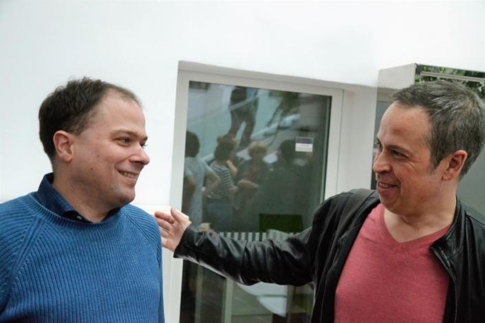 Matthias Vincenot et Jean-Luc Despax