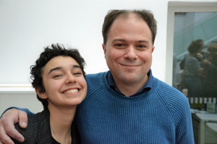 Jenna Boulmedaïs et Matthias Vincenot