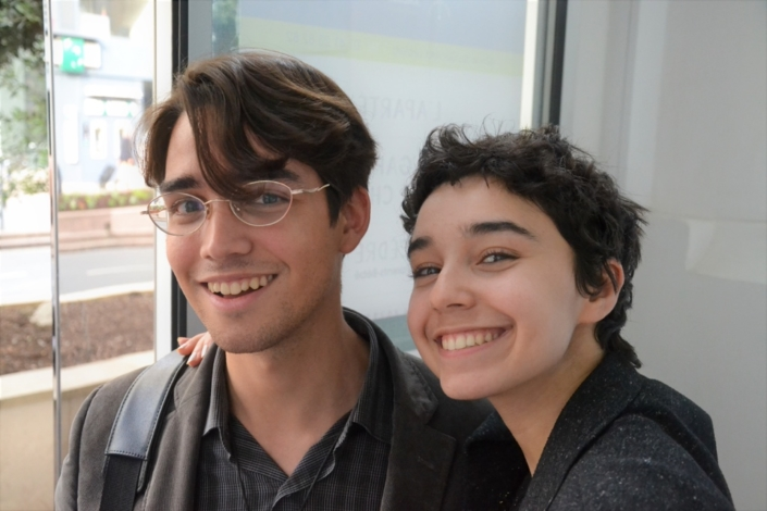 Carlos et Jenna