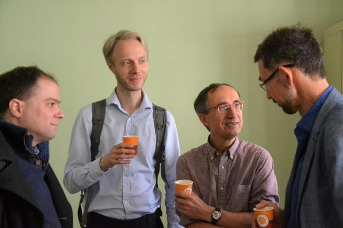 Matthias Vincenot, Jesper Jacobsen, Gilles Tabard et Istvan Ertl