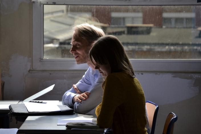 délibérations du jury espéranto : Jesper Jacobsen et Eva Pechova