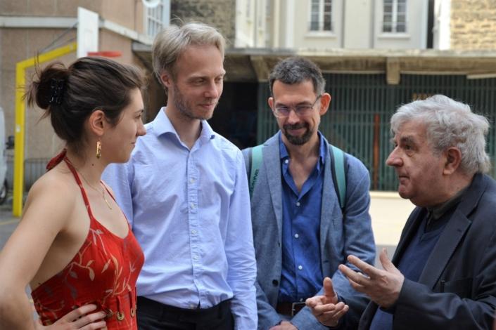 Jean-Marc Muller et des membres du Jury Espéranto