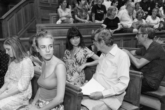 Marie Oppert, Margot Lourdet, Lena Lapres, Bernard Menez et Askehoug