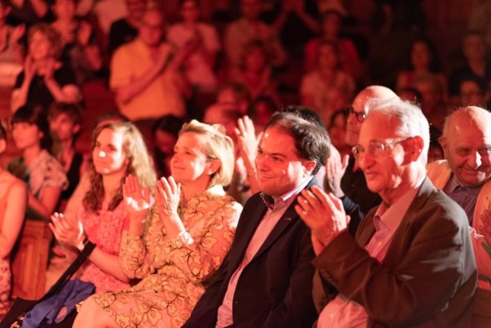 Julie Biet, Florence Berthout, Matthias Vincenot et Pierre Brunel