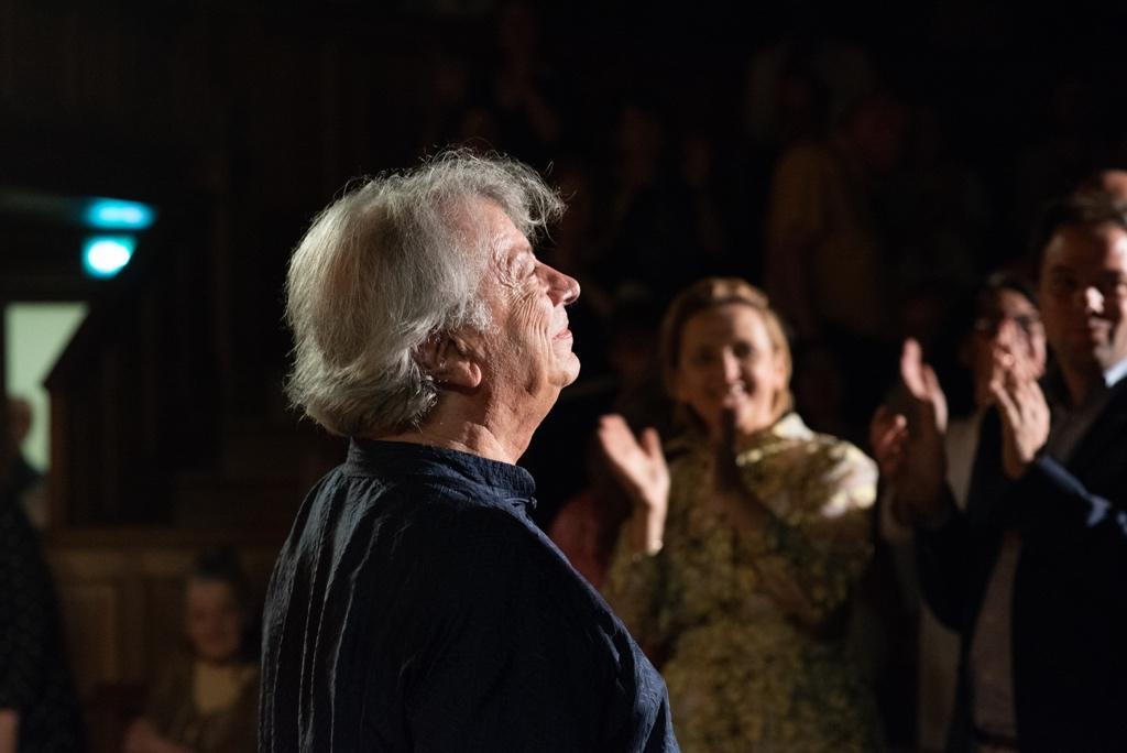 Standing ovation pour Hervé Vilard à la Sorbonne