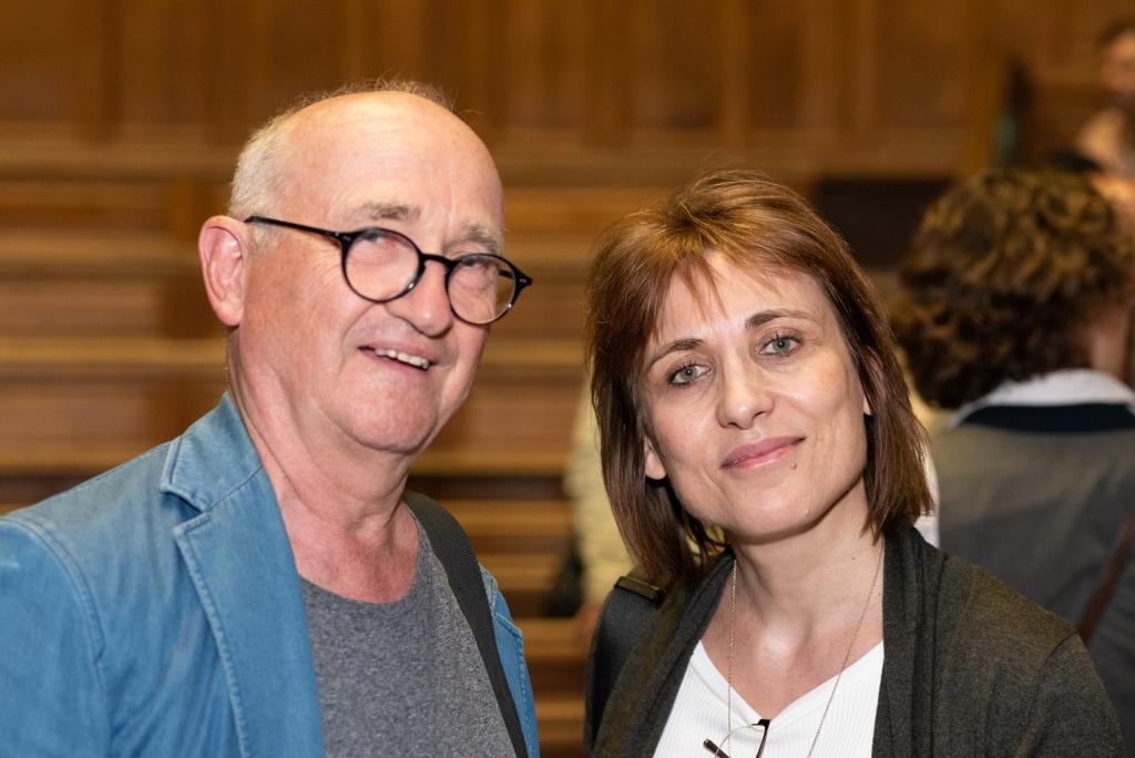 Laurence Bouvet et André Prodhomme, Président du Jury 2013