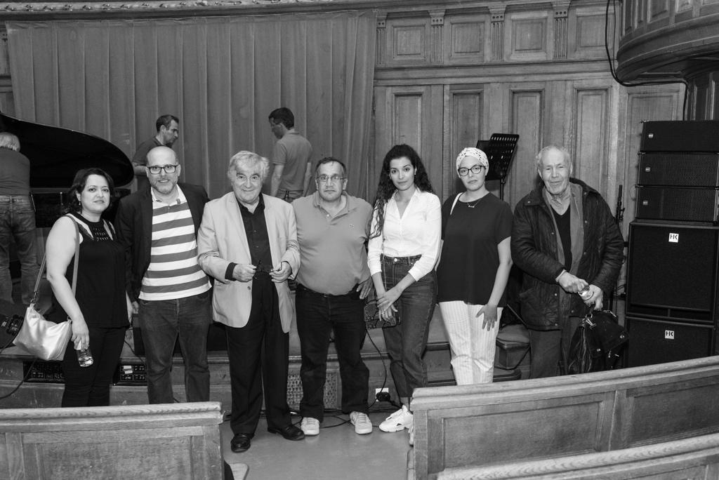 Lynda Aït Bachir, Déléguée générale avec des amis et Jean-Marc Muller