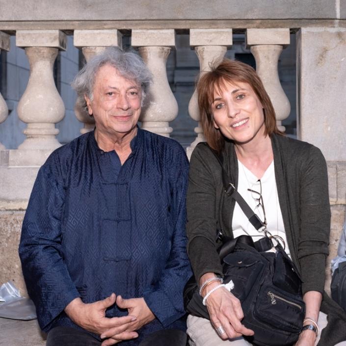 Hervé Vilard et Laurence Bouvet
