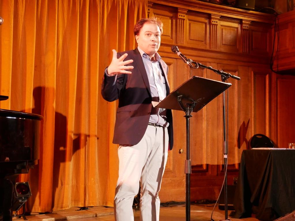 Matthias Vincenot, organisateur de la soirée