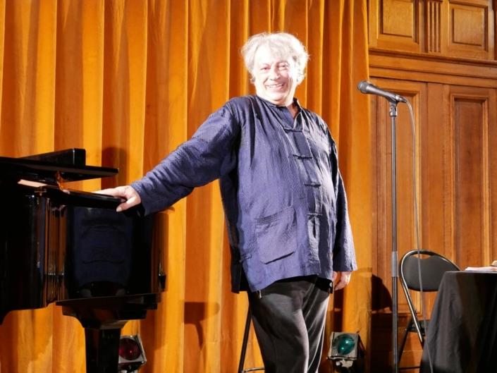 Jeudi 4 juillet 2019, Hervé Vilard à la Sorbonne