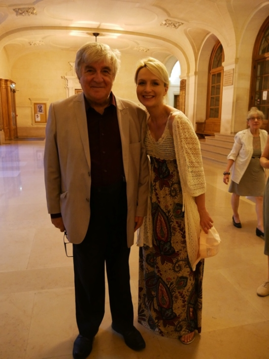 Jean-Marc Muller et Lison Mezzina, membre du Pré-jury