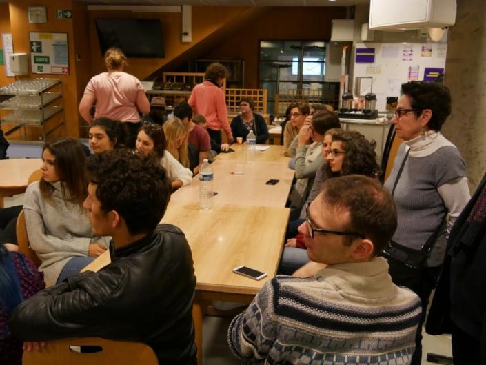 Réunion d'intégration des Lauréats de l'étranger et de province avec les jurés et les familles d'accueil