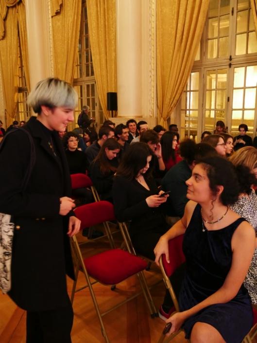 Selma Bendada et une amie
