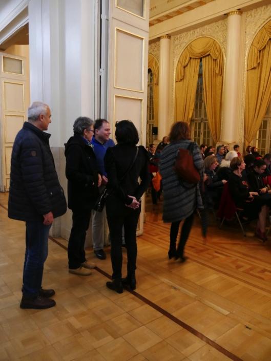 Matthias Vincenot accueille les personnalités