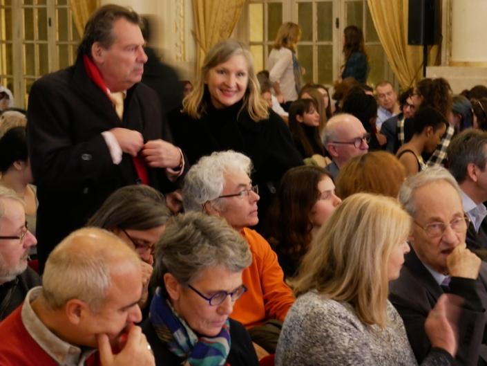 Jean-Marc Ferry et Francine Girond, membres du Comité d'Honneur